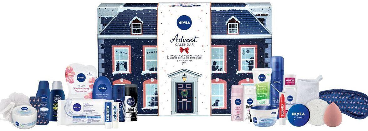 Nivea Adventskalender mit Pflegeprodukten für 20,90€ (statt 35€)