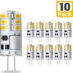 KINGSO 10er Pack LED Lampen Sockel G4 mit je 3W für 10,39€ (statt 16€)