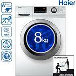 Haier HW80-BP14636 Waschmaschine mit 8kg & A+++ für 281,06€ (statt 332€)