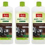 3er Pack Melitta Anti Calc Bio Liquid Flüssigentkalker (250ml) für 13,89€ (statt 22€)