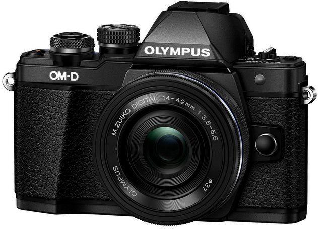 Olympus OM D E M10 Mark II 16MP schwarze Systemkamera mit 14 42mm Objektiv ab 359,45€ (statt 438€)