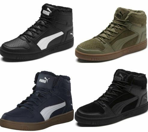 PUMA Rebound Lay Up Unisex Sneaker Mid Cut in 4 Farben für je 34,95€ (statt 43€)