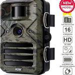 AGM 1080p 16MP Wildkamera mit 20m Nachtsicht ab 32,99€ (statt 64€)