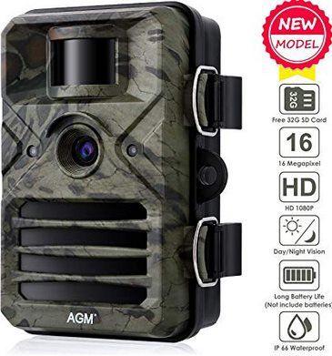 AGM 1080p 16MP Wildkamera mit 20m Nachtsicht ab 33,99€ (statt 68€)