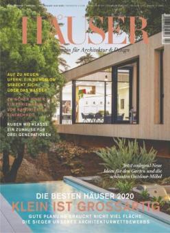 Häuser Fachzeitschrift Jahresabo für 63€ + 35€ Amazon Gutschein