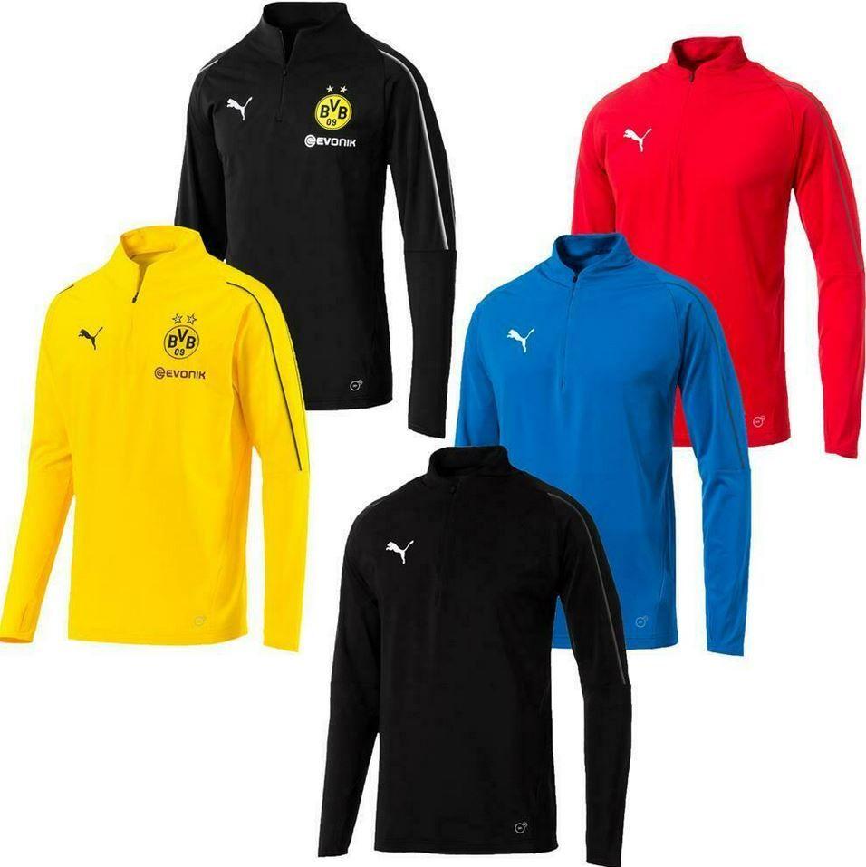 Puma BVB Langarm Training Shirts für Herren und Kinder für je 21,49€ (statt 26€)