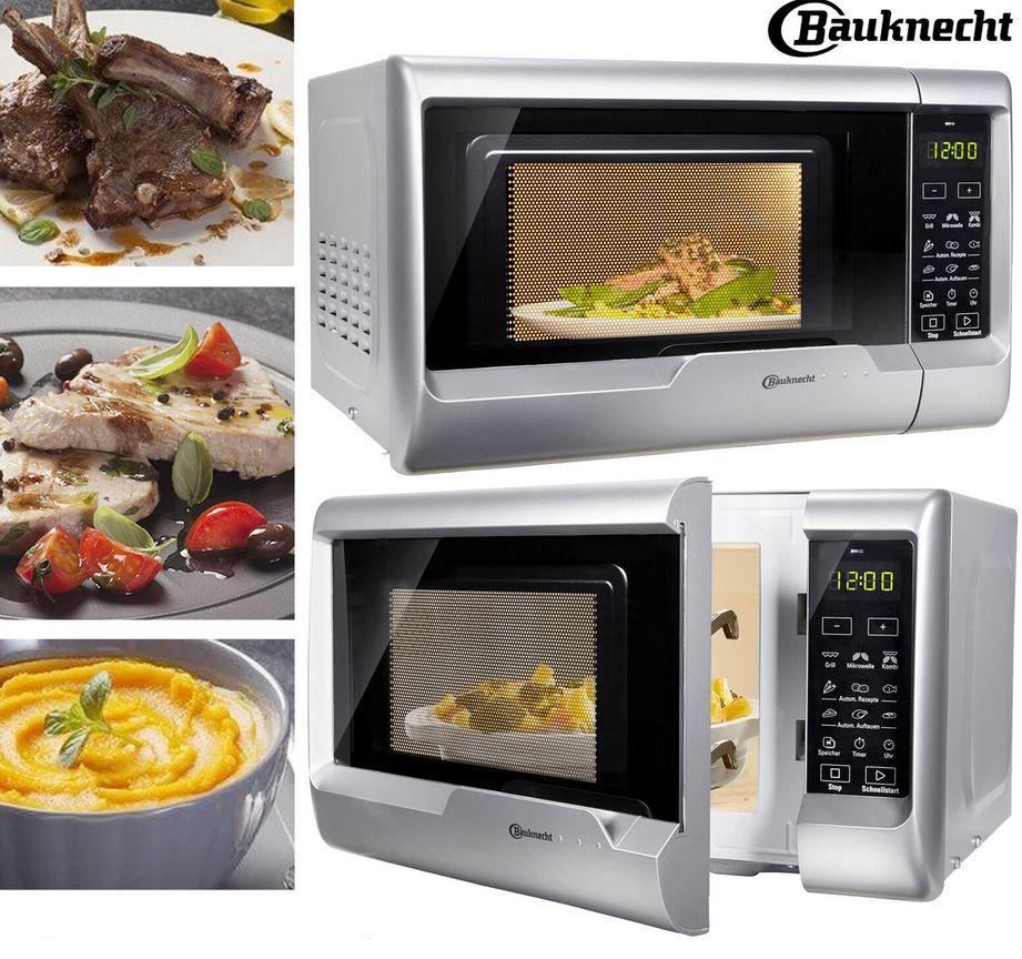 Bauknecht Mikrowelle MW 122 SL   700W Microwelle mit Grill für 79,90€ (statt 127€)