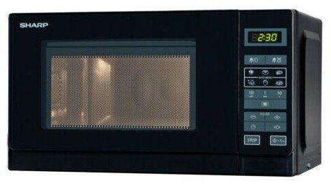 Sharp Mikrowelle mit 20L und 800 Watt mit 11 Leistungsstufen für 55€ (statt 65€)