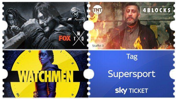 Neue Staffel Babylon Berlin oder 4 Blocks, Walking Dead für 4,99€ mtl. + 1 Tag Supersport Ticket   für Neukunden