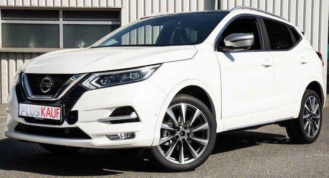 Nissan Qashqai Tekna+ mit 140 PS inkl. 3 Wartungen für 223€ mtl. brutto