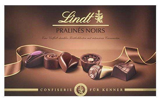 2er Pack Lindt Pralinés Noirs (je 200 g) für 10€ (statt 16€)   Prime