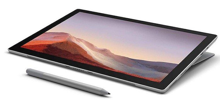 Microsoft Surface Pro 7 (12,3, Core i3, 4GB, 128GB, Win10) für 698,87€ (statt 820€)