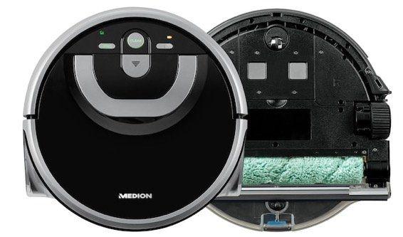 Medion Wischroboter MD18379 für vollautomatische Nassreinigung ab 189,95€ (statt 250€)