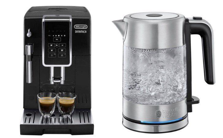 DeLonghi Ecam 350.15.B Dinamica Kaffeevollautomat + Wasserkocher ab 349€ (statt 425€)