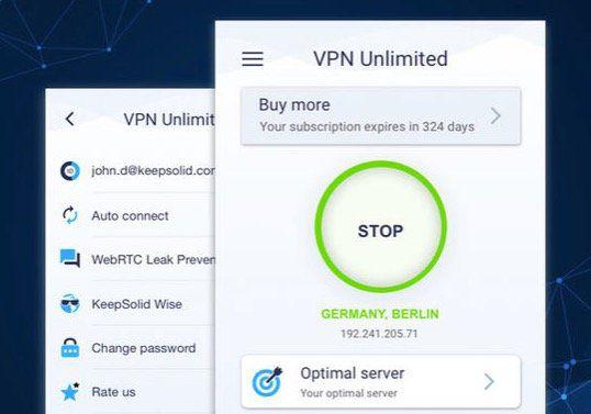 KeepSolid VPN Unlimited   ein Leben lang Zugang für 5 Geräte für 13€