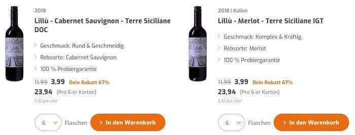 Weinvorteil: 20,20€ Rabatt ab nur 50€ 🍷 auch auf Sale