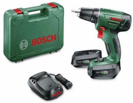 Bosch PSR Universal LI Akkuschrauber inkl. 2 Akkus (je 1,5 Ah) für 77€ (statt 119€)