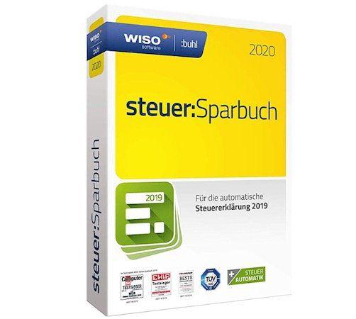 WISO steuer:Sparbuch 2020 (für Steuerjahr 2019) für 19,99€ (statt 24€)   auch steuer:Mac 2020