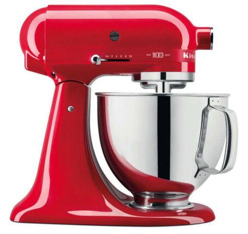 KitchenAid Artisan 5KSM180HESD Küchenmaschine mit 4,8 Liter Schüssel für 399,90€ (statt 568€)
