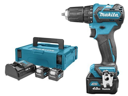 Makita DF322DSM3J 10,8 Volt Akku Bohrschrauber mit 3 Akkus (je 4 Ah) für 155,90€ (statt 227€)