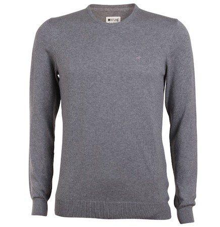 Mustang Herren Basic Rundhals Pullover für 19,95€ (statt 30€)