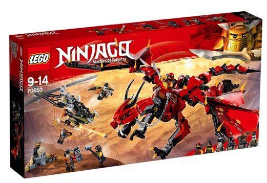 Einige LEGO Deals bei Alternate   z.B. LEGO 70653 Ninjago Mutter der Drachen für 39,99€ (statt 47€)