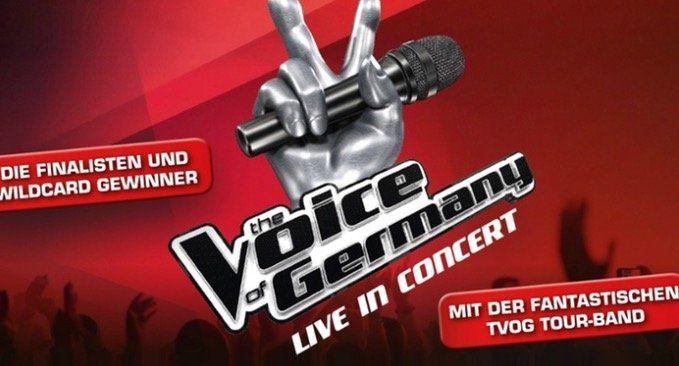 """Ticket """"The Voice of Germany"""" Live in Concert am 27.12. in Aschaffenburg (PK 1) für 39€"""
