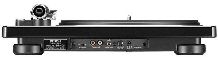 Denon DP 400 HiFi Plattenspieler mit integriertem Phono EQ in Schwarz für 283,19€ (statt 390€)