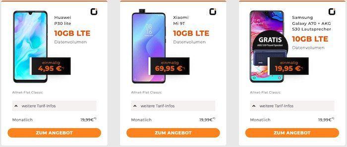 Otelo Allnet Flat im Vodafone Netz bis zu 20GB ab 19,99€ mtl.   dazu: z.B. PS4 4 Pro inkl. FIFA 20 für 39,95€