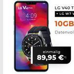 LG V40 ThinQ + LG W7 Watch für 89,95€ + Vodafone Flat mit 10GB LTE für 19,99€ mtl.