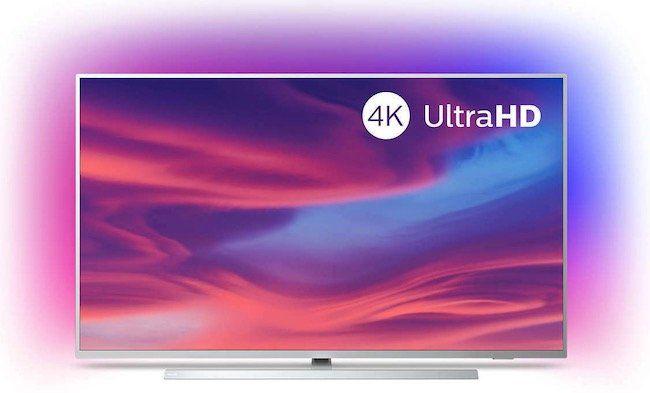 Philips 55PUS7334   55 Zoll UHD Fernseher mit 3 seitigem Ambilight für 619€ (statt 738€)
