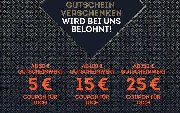SportScheck Wertgutschein kaufen und bis zu 25€ Bonus bekommen