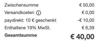 50€ PSN Guthaben für 40€ mit PayDirekt + Abholung