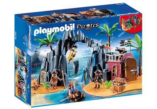 Playmobil Piraten Schatzinsel (6679) für 22,69€ (statt 46€)