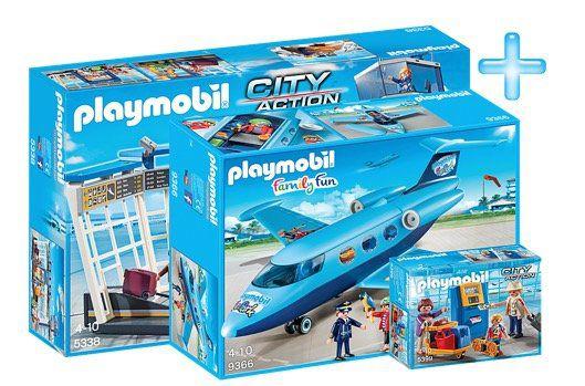 Playmobil Bundle City Flughafen für 43,94€ (statt 78€)