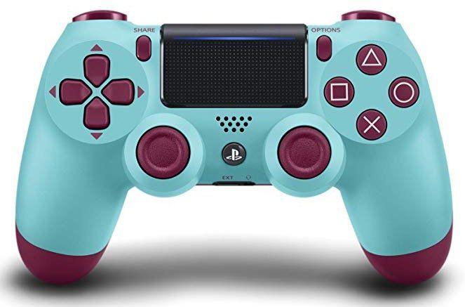 Ausverkauft! PlayStation 4 DualShock 4 Wireless Controller in Berry Blue für 39,70€ (statt 59€)