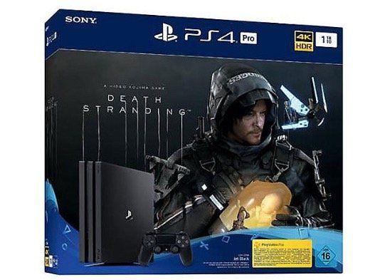 Sony PlayStation 4 Pro 1TB + Death Stranding Bundle für 306,04€ (statt 345€)