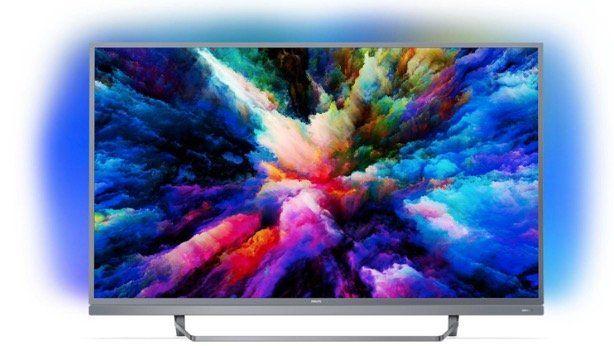 🔥Philips 49 LED UltraHD Fernseher mit Ambilight (Android, Triple Tuner) für 465,99€ (statt 606€)