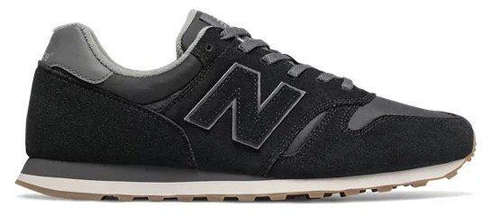 Schnell? New Balance Mens 373 aus Wildleder in Schwarz für 41€(statt 72€)