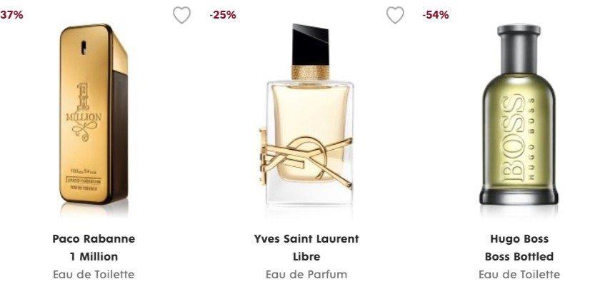Hugo Boss Boss Bottled Eau de Toilette 50ml für 28€   und weitere Parfum Deals