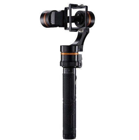 Walimex Pro Waver 3 Achsen GoPro Gimbal inkl. GoPro Halterung für 59€ (statt 107€)