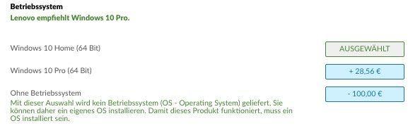 ThinkPad E495 mit kleinem Kniff ab 447€ (statt 593€)   Lenovo Onlineshop