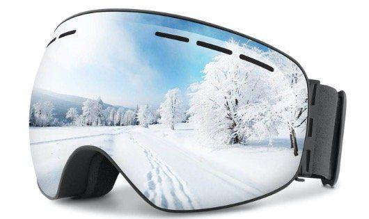 OMORC Skibrille mit UV Schutz für 10,99€   Prime