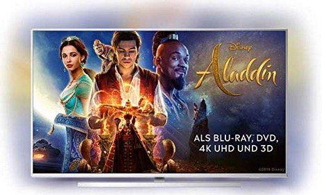 Philips 50 UHD Fernseher mit 3 seitigem Ambilight und Alexa Integration für 365,44€ (statt 560€)