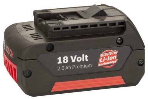 Bosch Ersatzakku 18Volt 2,6 Ah für 14,99€(statt 30€)