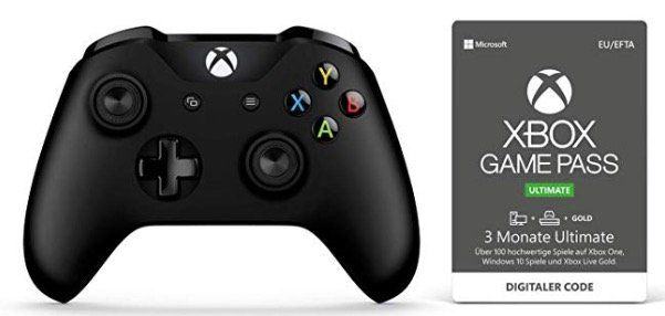 Xbox One S Wireless Controller + 3 Monate Xbox Game Pass Ultimate für 48,48€ (statt 65€)