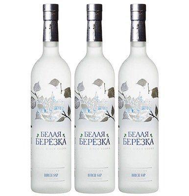 3 Flaschen White Birch Russian Vodka ab 25,70€ (statt 40€)