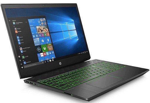 HP 15 cx0075ng Notebook mit 1,2TB Hybrid + GTX 1050 Ti für 649,99€ (statt 799€)