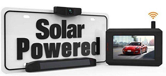 BOSCAM SunGo Solar Rückfahrkamera Set ohne Verkabelung und IP68 Wasserdicht für 85,67€ (statt 126€)