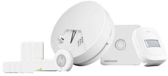 Medion Smart Home Starter Set (P85754) für Einsteiger für 85,94€ (statt 210€)   Neukunden nur 64,99€